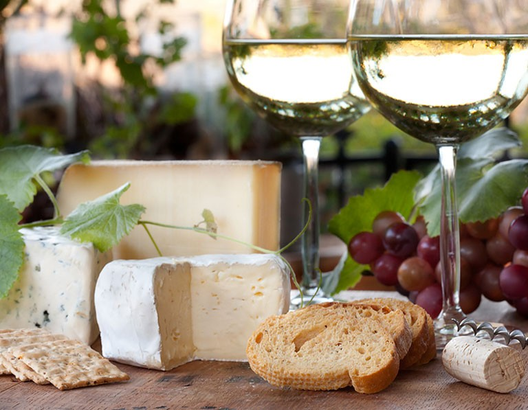 Wine and Cheese Pairing by Millennial Magazine