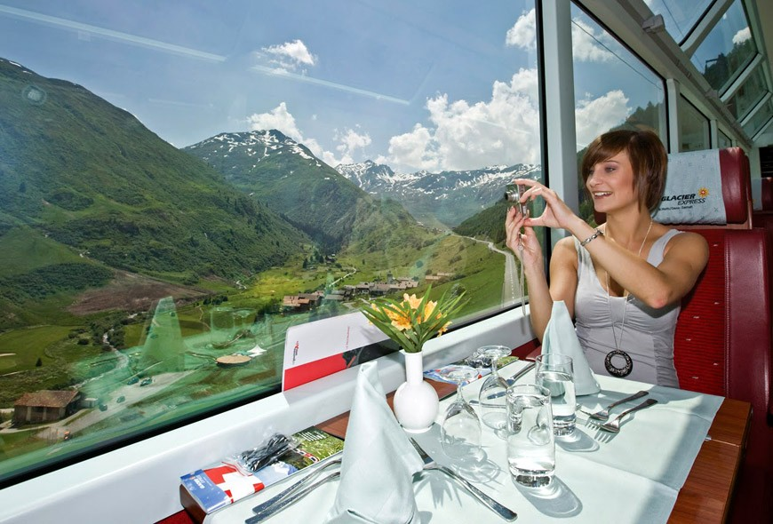 Millennial Magazine - Glacier Express Switzerland