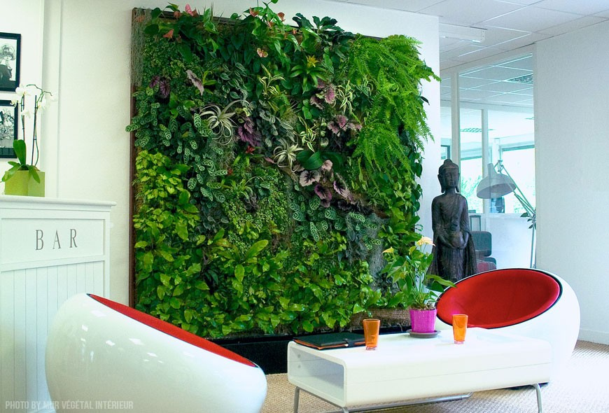 Millennial Magazine- green walls