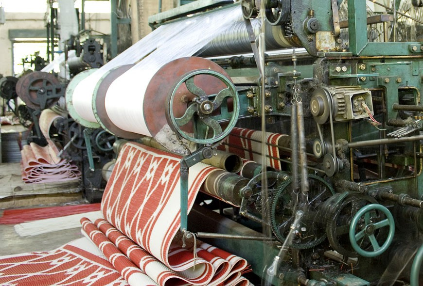Millennial Magazine - textile factory technology takeover